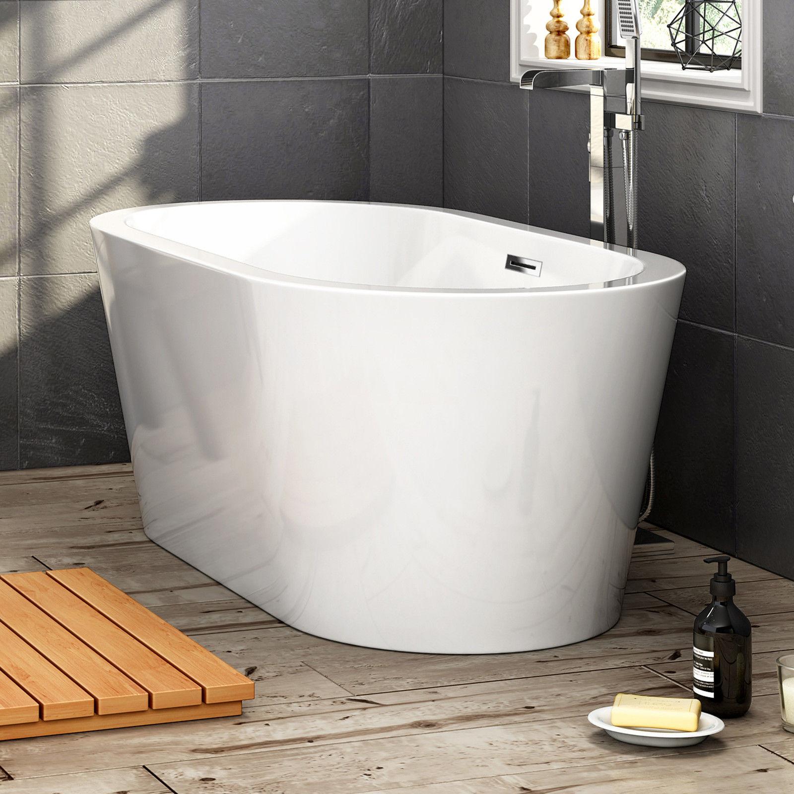 1500x800x600 Bathroom Round Freestanding Bath Tub Acrylic